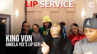 Angela Yee's Lip Service Feat. King Von REACTION