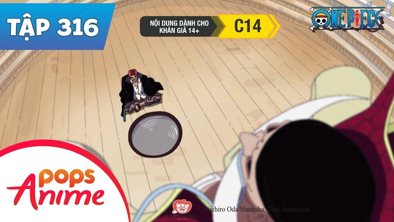 One Piece Tập 316 – Shanks Hành Động! Nghi Lễ Dành Cho Thời Đại Điên Loạn – Đảo Hải Tặc