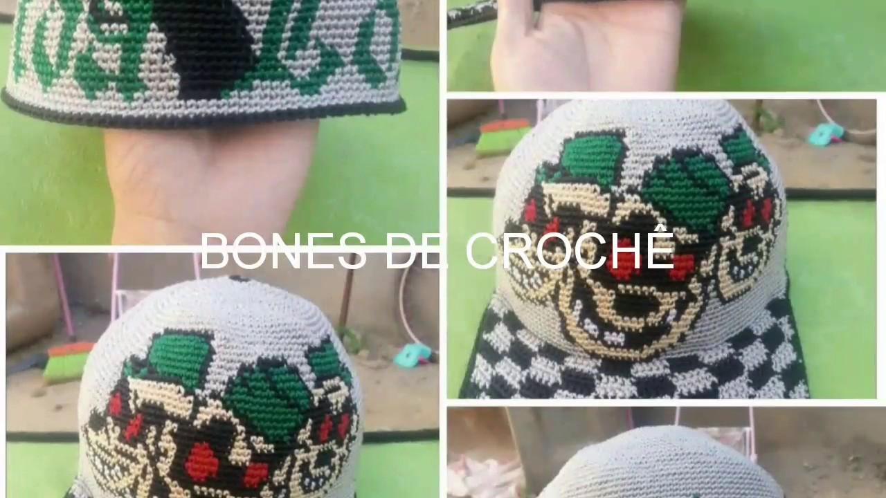 Bones de crochê. - YouTube 9b9f755f89c