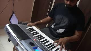 Me Teri Mohabbat Mein | Tridev | Keyboard Cover | Mohd.Aziz & Sadhana Sargam | Viju Shah