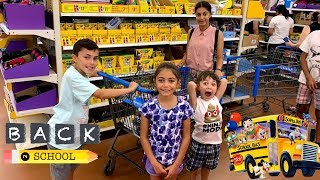 Cover images Back to School Shopping - HZHtube Kids Fun