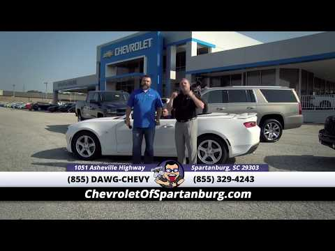 Put Your Dream Car in Your Driveway with Chevrolet of Spartanburg