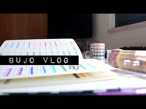 first-penpal-letters,-new-stationery-&-march-theme-|-bujo-vlog-003