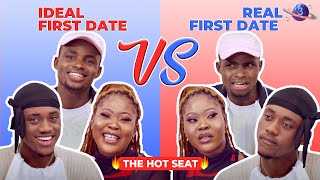 THE HOT SEAT | Ideal First Date VS Real First Date - Cast of Table for Two: A Series of First Dates