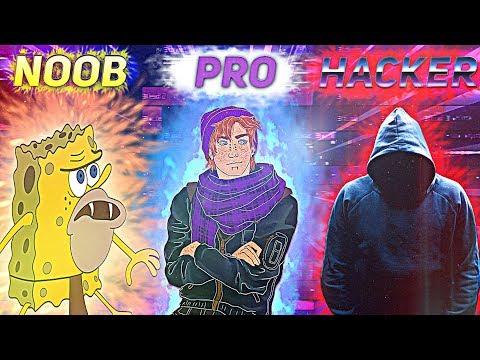 NOOB vs PRO vs HACKER MUSIC PRODUCER IN FL STUDIO