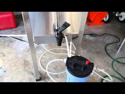 Testing Waterwise 7000 Distiller Home Water Purification System