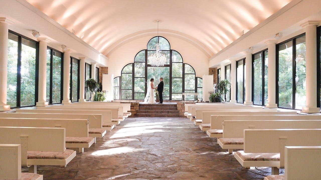 Bethany & Jared - Stonegate Glass Chapel Church