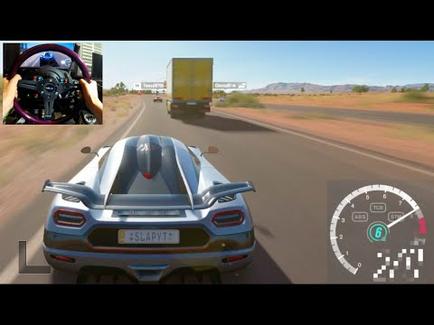 Forza Horizon 3 GoPro Top Speed Challenge!  V12 vs V8