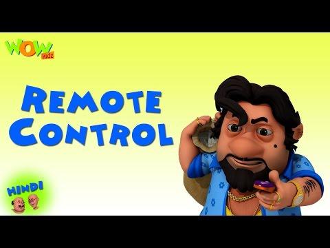 Remote Contol - Motu Patlu in Hindi - 3D Animation Cartoon for Kids -As on Nickelodeon