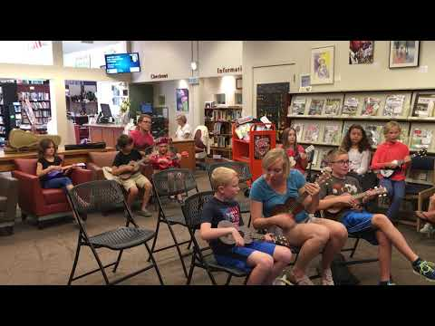 All Ages Ukulele Class -- San Juan Island Library --  Little Pile of Tin