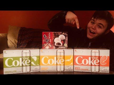 Dan and Judy try Diet Coke flavors
