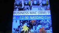 Stock Ticker Tape Widget for Android