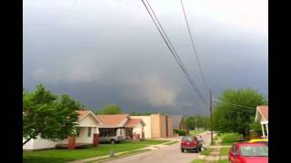 May 19, 2013 Tornado Warning Shawnee Oklahoma