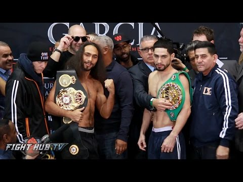Keith Thurman vs. Danny Garcia COMPLETE WEIGH IN & FACE OFF video