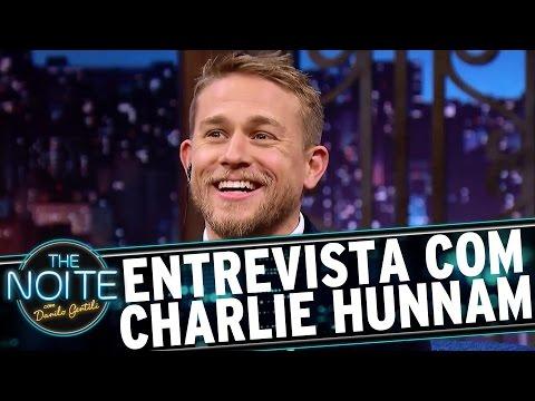 Entrevista com Charlie Hunnam | The Noite (15/05/17)