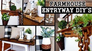 4 FARMHOUSE DIY'S DECOR IDEAS …