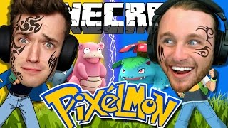 Minecraft | Pokemon | TATTOO CHALLENGE!! +VENUSAUR!! [4]