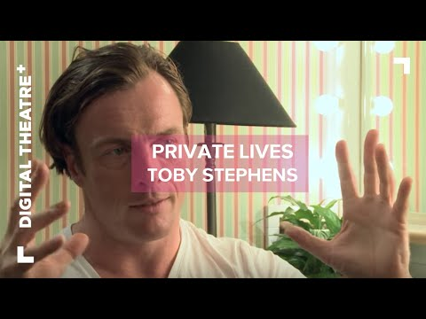 Toby Stephens   Private Lives  Digital Theatre