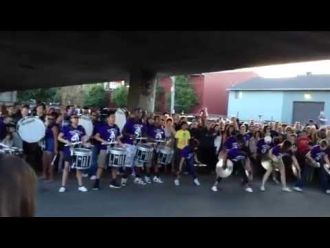 Garfield High School Drumline | Honkfest 2014 | Samba Reggae