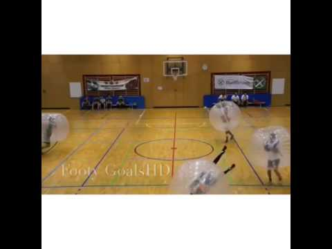 Okay, it's official I HAVE to play Bubble soccer Vine by: Footy Goals HD