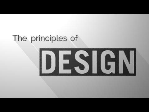 the principles of design youtube