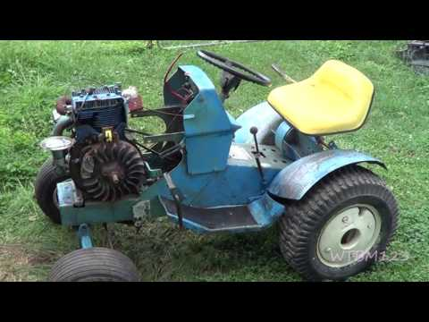 ss 14 sears suburban , some new parts ,garden tractor youtube