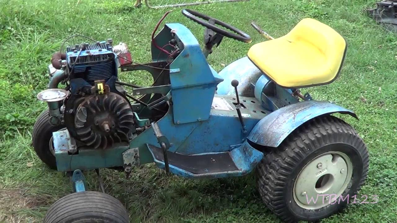 [SCHEMATICS_4LK]  SS 14 Sears Suburban , Some New Parts ,Garden tractor - YouTube | Wiring Diagram Sears Ss14 |  | YouTube