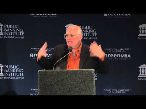 David Cobb - Public Banking 2013: Funding the New Economy, June 2nd 2013