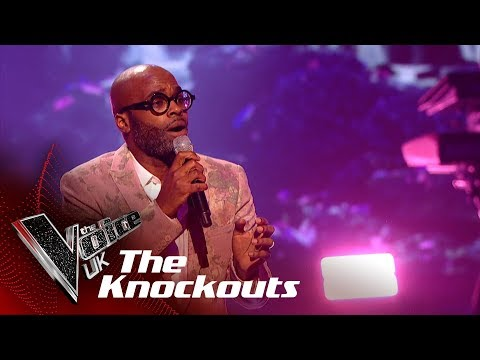 Cedric Neal's 'Bridge Over Troubled Water' | The Knockouts | The Voice UK 2019