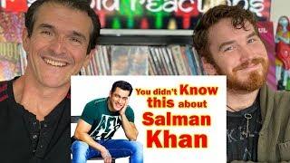 12 Facts about Salman Khan | REACTION!!