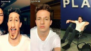Charlie Puth on Snapchat   July 12 2017