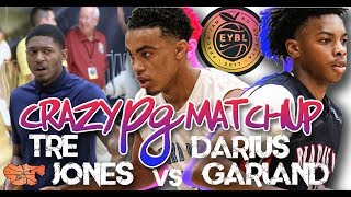 Darius Garland vs Tre Jones BATTLE OF THE BEST PG!!! | Peach Jam Elite 8
