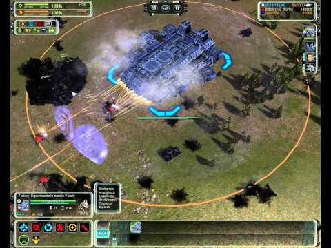 Supreme Commander Forged Alliance Mod Vorstellung/review Experimental Wars (German)