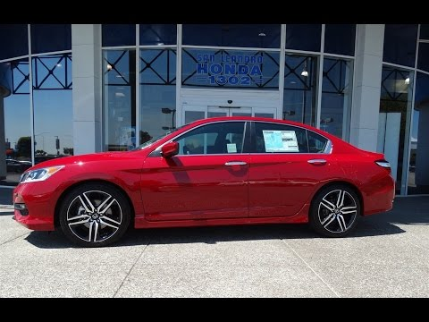2017 Honda Accord Sport Red Sale Price Deals Bay Area Oakland Alameda Hayward Fremont San Leandro Ca