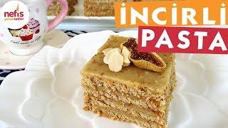 İncirli Bisküvili Pratik Pasta - Pasta Tarifleri - Nefis Yemek Tarifleri
