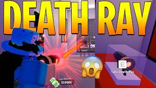 HOW TO GET THE NEW DEATH RAY GUN IN MAD CITY FAST! (Roblox)