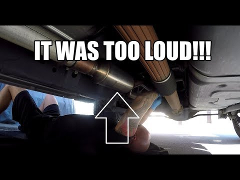 Dodge Ram 1500 - Carven Progressive Exhaust REMOVAL - IT WAS TOO LOUD