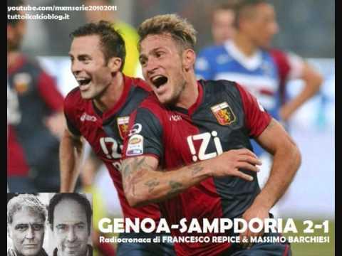 GENOA-SAMPDORIA 2-1 - Radiocronaca di Francesco Repice & Massimo Barchiesi (8/5/2011) Radiouno RAI