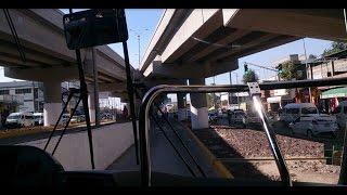 Viaje en Mexibús de la estación Ecatepec a la parada San Carlos L-2