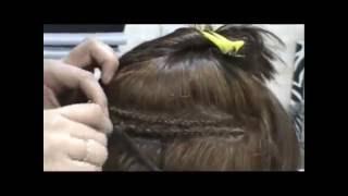 Наращивание волос на косичку(Источник - http://stranavolos.ru., 2013-04-22T17:14:17.000Z)