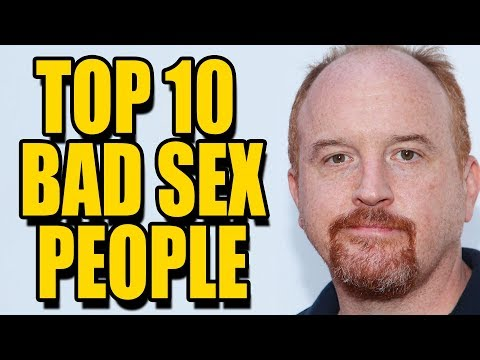 BAD SEX PEOPLE | Top 10 Hollywood Sex Scandals