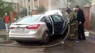 тушение автомобиля(, 2014-10-05T10:16:41.000Z)