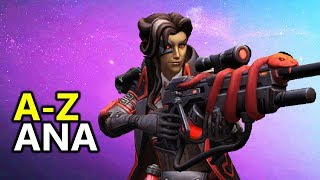 ♥ A - Z Ana - Heroes of the Storm (HotS Gameplay)