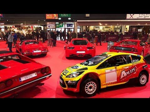 10 Ferrari's & Rally Cars - Dublin Classic Car Show 2018 - Stavros969