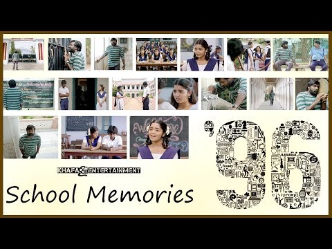 96 School Memories | 96 Movie | Vijay Sethupathi, Trisha | Govind Vasantha | C. Prem Kumar