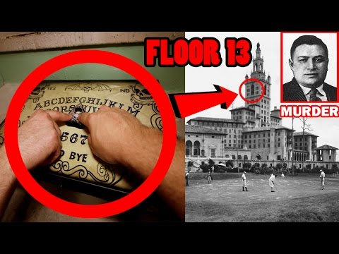 (HAUNTED HOTEL) OUIJA BOARD IN AMERICA'S MOST HAUNTED HOTEL ON THE 13TH FLOOR! TERRIFYING EXPERIENCE