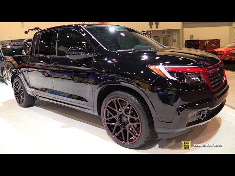 2017 Honda Ridgeline Black edition by MAD Industries - Exterior Walkaround - SEMA 2016