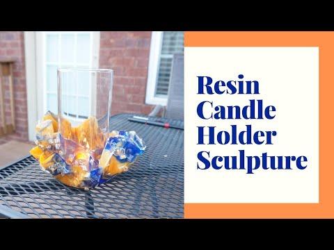 Secrets of making Resin Candle Holder/Bowl Sculpture