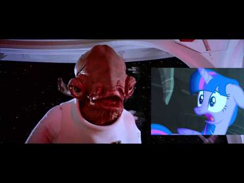 It's a trap! - Twilight and Admiral Ackbar