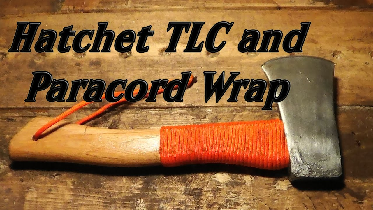 Hatchet Tlc And Paracord Wrap Youtube
